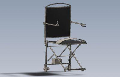 �易折�B式�椅Solidworks�D�模型