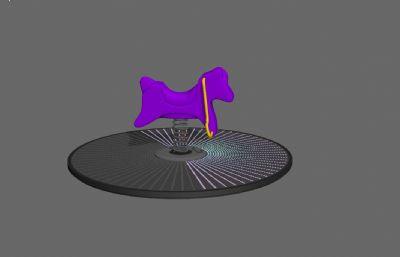 ��簧�u�u木�R3D模型