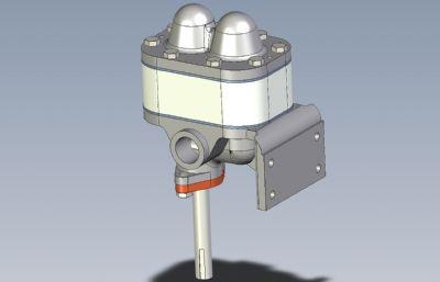 �X�泵模型,STP格式