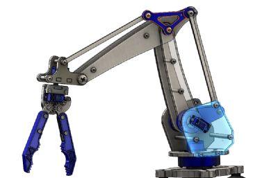 夾爪,夾具機械臂STEP格式模型