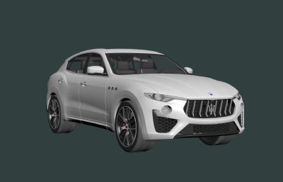 馬薩拉蒂levante sq4 suv汽車3D模型