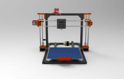 小型��食叽�3D打印�CSTEP格式模型