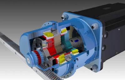 �M�U�X��p速器STP格式模型