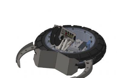 武�g�鸲�C器人�,�技�C器人�Solidworks�D�模型