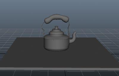 水��,�X制��水��maya模型