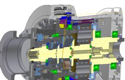 圓形減速器STP格式模型