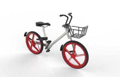 共享單車,共享自行車Solidworks設計模型,附STEP格式文件