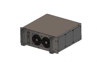 電腦機架,機箱,機柜STEP格式模型