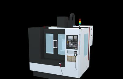 YSV-855數控機床,立式加工中心3D模型