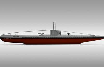 艦船,軍艦簡易圖紙模型