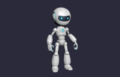 機器人3D模型,MAX+FBX格式